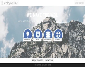 Coldplatter Web Hosting and Design