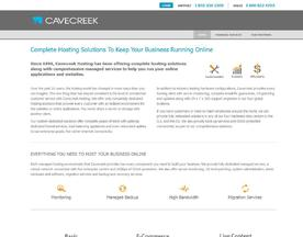 Cavecreek Web Hosting