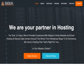 Sliqua Enterprise Hosting