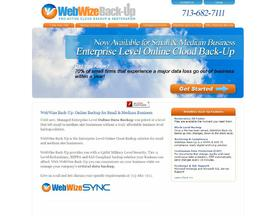 WebWize Back-Up