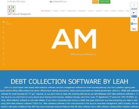 LEAH Debt Collection Software