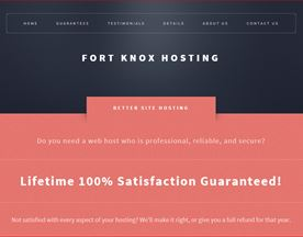Fort Knox Hosting