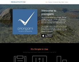 priorigami: the art of productivity