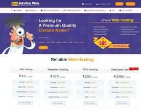Advika Web Developments Hosting Pvt Ltd