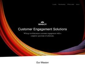 Whisqr Customer Engagement