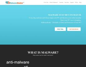 MalwareBuster Anti-Malware for Windows