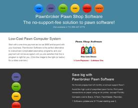 Pawnbroker Pawn Shop Software