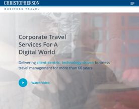 Christopherson Business Travel