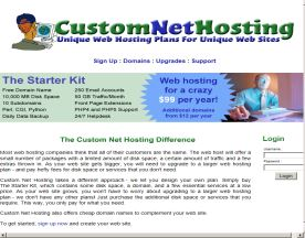 Custom Net Hosting